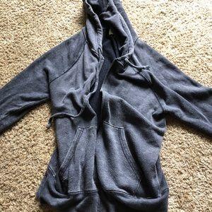 Juicy Couture J Zipper Athletic Hoodie